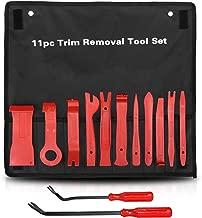 LEDAUT Car Trim Removal Tool Kit Interior Car Door Upholstery Trim Clip Panel Remover Nylon Fiber Fastener Removing Tool for Car Interior Modification