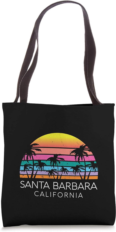 Santa Barbara Beach California Surf Vintage Cali Isla Vista Tote Bag