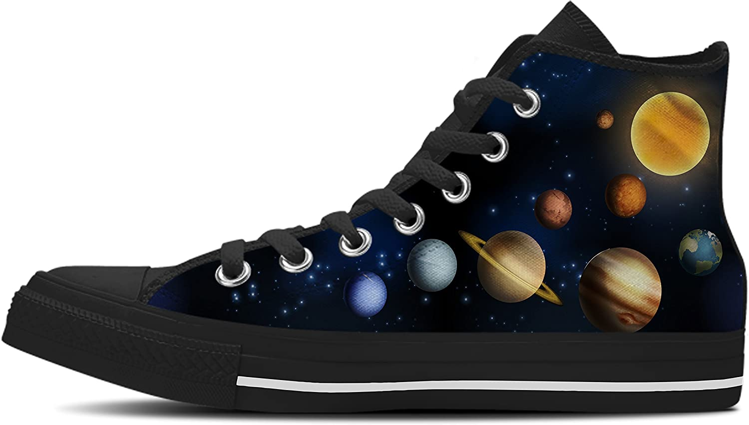 Gnarly Tees Men's Planet shoes High Top