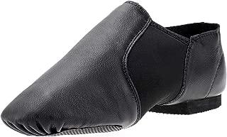 Koolen Leather Upper Jazz Shoes Slip-on Ballet Shoes Ballet Slipper Dance Shoes for Girl Women Boy Adults (Toddler/Little Kid/Big Kid)