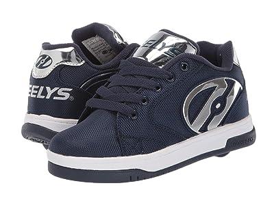 Heelys Propel Ballistic (Little Kid/Big Kid/Adult) (Navy/Silver) Boy