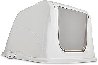 So Phresh Flip Top Cat Litter Box Hood in White