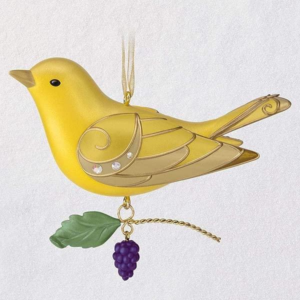 HMK 纪念品 2019 鸟类之美女士夏季塔纳格装饰品