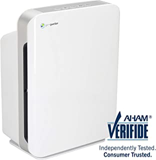 Germ Guardian High CADR True HEPA Filter Air Purifier for Home, Large Rooms to 338 sq ft, Filters Allergies, Pollen, Smoke, Dust, Pet Dander, UVC Sanitizer Eliminates Germs, Mold, Odors, Quiet AC5900W