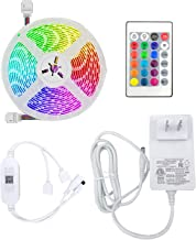 LED Smart Light Strip Set 5050 RGB Light Strip Set Smart Remote Control Colorful Light Strip (Support Physical Remote Cont...