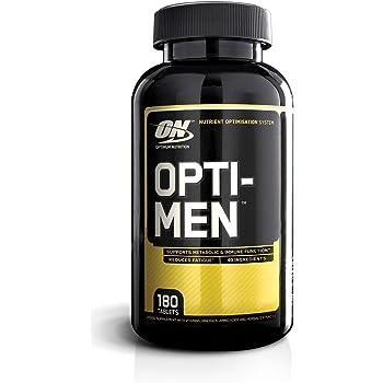 Optimum Nutrition Optimen Multivitaminico Uomo, Gusto Neutro, 180 Compresse, 60 Porzioni