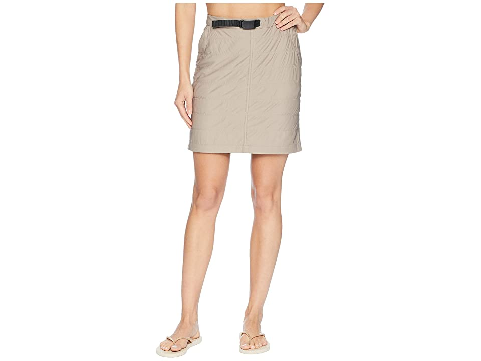Snow Peak Flexible Insulated Skirt (Beige) Women