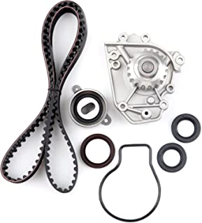 OCPTY Timing Belt Kit Including Timing Belt Water Pump with Gasket tensioner Bearing etc, Compatible for 1996 1997 1998 1999 2000 2001 Acura Integra/1997 1998 1999 2000 2001 Honda CR-V
