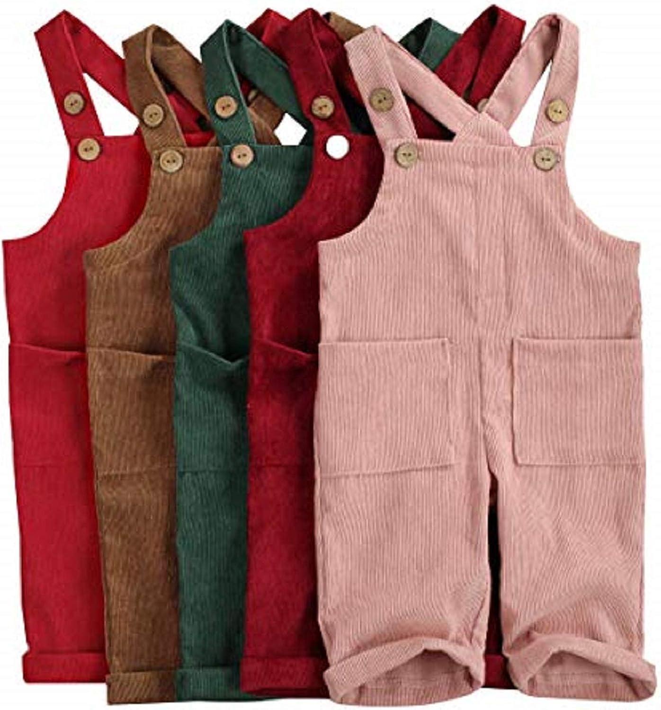 Argorgeous Unisex Baby Suspender Long Pants