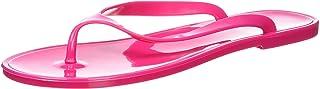Nufoot Raspberry Flip Flops, Large, 2 Count