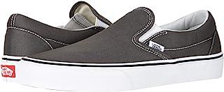 [VANS(バンズ)] メンズスニーカー・靴 Classic Slip-On Core Classics Charcoal (Canvas) Men's 5.5, Women's 7 (23.5cm(レディース24cm)) Medium [並行...