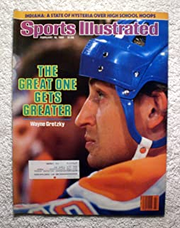 Wayne Gretzky - Edmonton Oilers - The Great One Gets Greater - Sports Illustrated - February 18, 1985 - Hockey - SI
