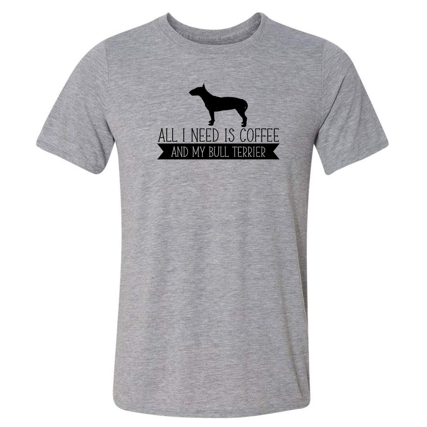 All I Need is Coffee Bull My Terrier T-Shirt Cheap super special price 2021 spring and summer new and