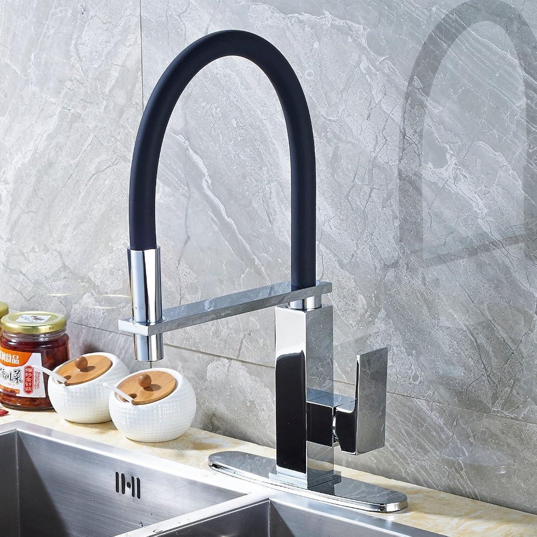 CZOOR Chrom Spüle Wasserhahn Mischbatterie Deck Mount Luxus Küche Wasserhahn Mischbatterie