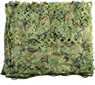 Image of GONGFF Army Camo Netting, Camouflage Net, Sun Mesh,Nets, Awning, Sunscreen Nets, Shade Blinds for Sunshade Camping Shooting Hunting Fishing Party Decoration Watching Hide