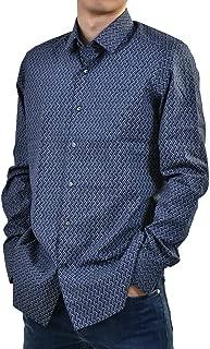 (チット) CIT LUXURY セミワイドカラーシャツ BN167L 004791 07300 40 ブルー [並行輸入品]