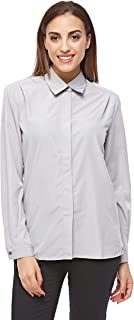 Pierre Cardin Shirts For Women, Grey 40 EU