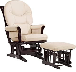 Dutailier Sleigh 0373 Glider Multiposition-Lock Recline with Ottoman Included