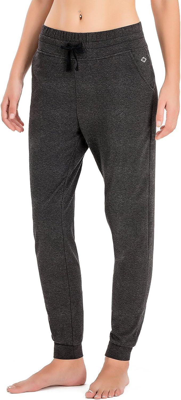 NAVISKIN Jogger Pantalon de Sport Femme Pantalon de Surv/êtement avec Poches Lat/érales