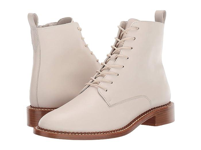 Vintage Boots, Retro Boots Vince Cabria Off-White Womens Shoes $395.00 AT vintagedancer.com