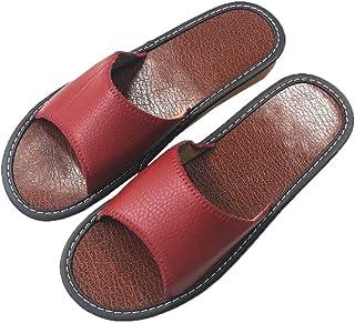 HRFEER House Slippers Women/Men Linen Silent Indoor Shoes Beach Slipper Women Summer Sandals