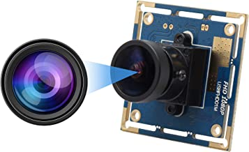 High fps Fisheye USB Camera Module with CMOS OV2710 Image Sensor Full HD 1080P USB2.0 Web Camera,Wide Angle USB with Camera with High Frame Rate640X480@100fps,UVC for Use in Android Windows Linux Max