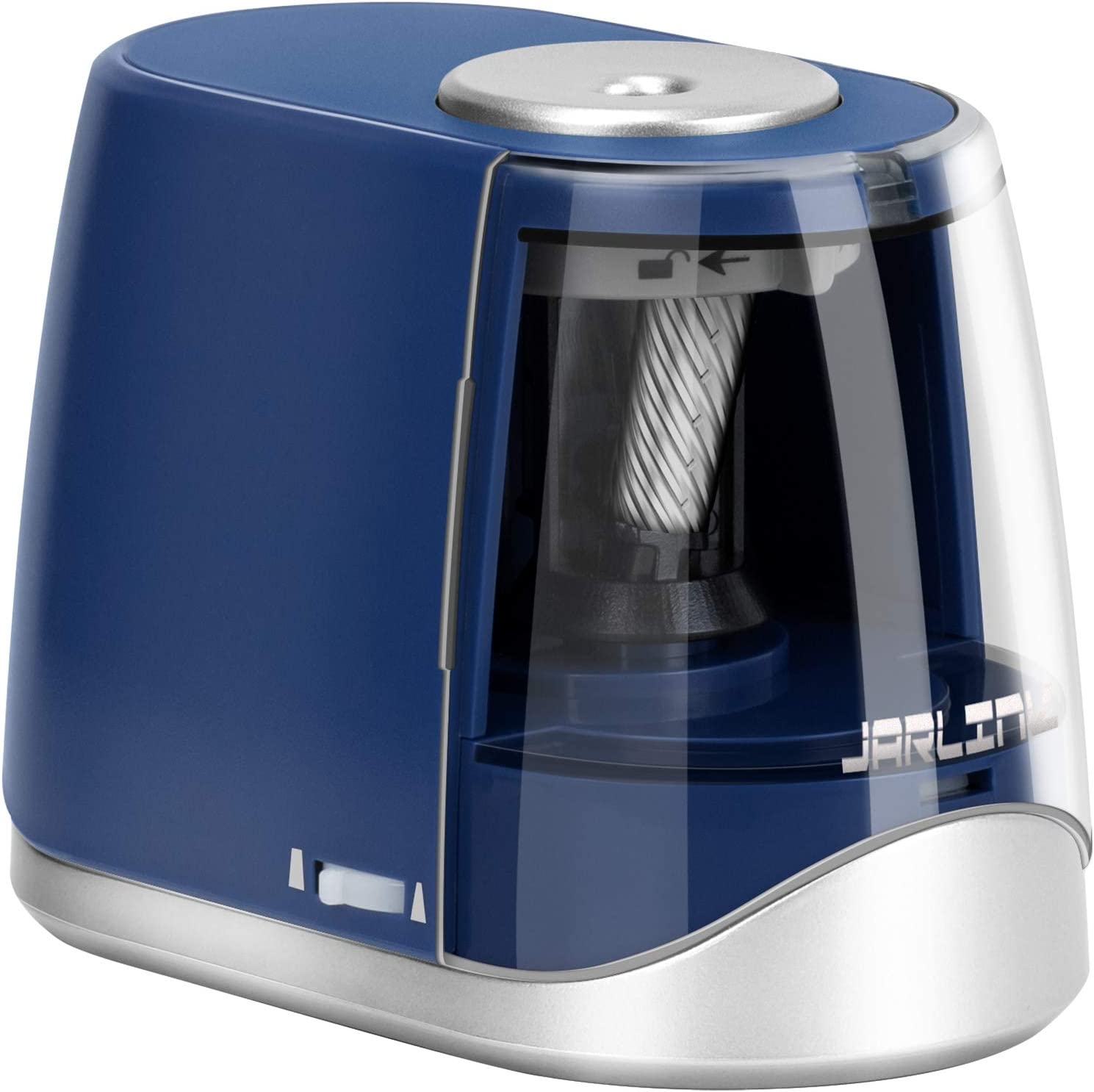 JARLINK Electric Pencil SEAL limited product Sharpener P Heavy-Duty Operated Japan's largest assortment Battery