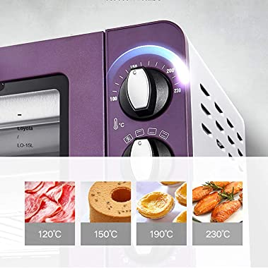 BelonLink 15L Mini Oven Electric Oven Multifunctional Household Baking Cake Microwave Oven Vertical Small Oven Kitchen Applia