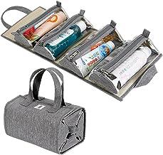 کیسه آرایشی رومیزی آویز / کیت توالت / سازمان دهنده سفر برای زنان - 4 کیف ذخیره سازی قابل جابجایی - لوازم آرایش ، لوازم آرایشی ، کمکهای اولیه ، پزشکی ، مراقبت های شخصی ، حمام ، دارنده پالت / برس