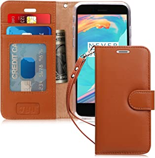 iPhone 6S Wallet Case, iPhone 6 Wallet Case, FYY [Top-Notch Series] Premium Genuine Leather Wallet Case Protective Cover f...