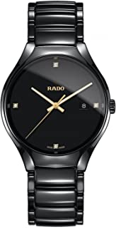 Rado Men's Black Dial Black Ceramic Band Watch - R27238712