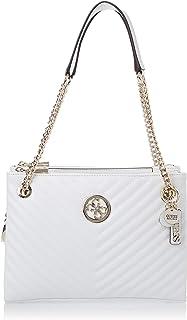 Guess Womens Satchel Bag, White - VG766308