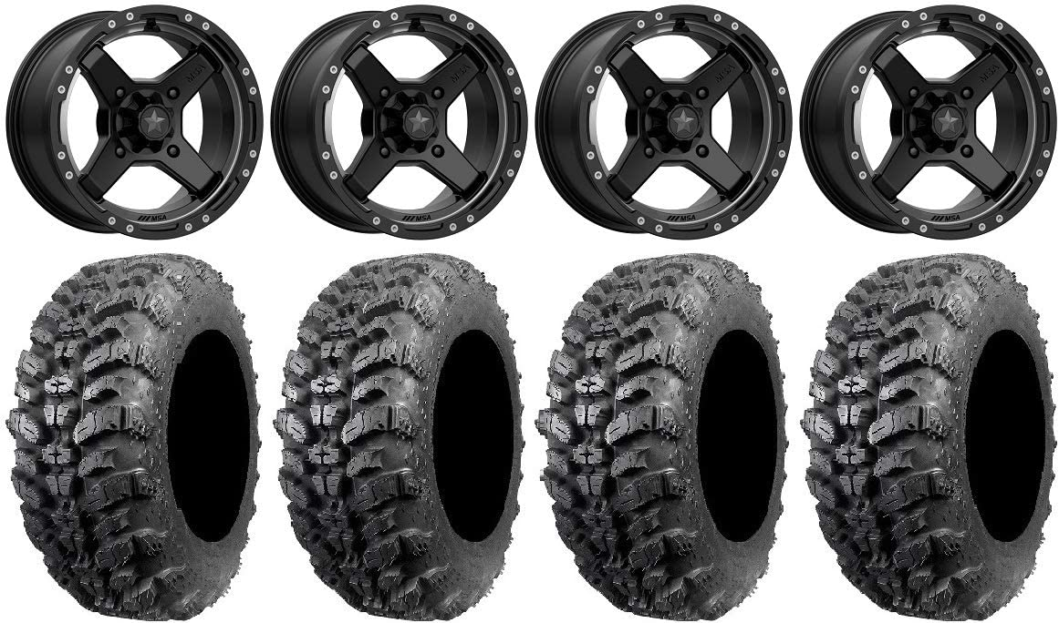 Bundle - 9 Items: Our shop OFFers the best service MSA Black Cross 920 New life Wheels Sniper 14