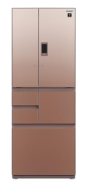 コンベンション谷集まるシャープ メガフリーザー 冷蔵庫 502L グラデーションブラウン SJ-GX50D-T