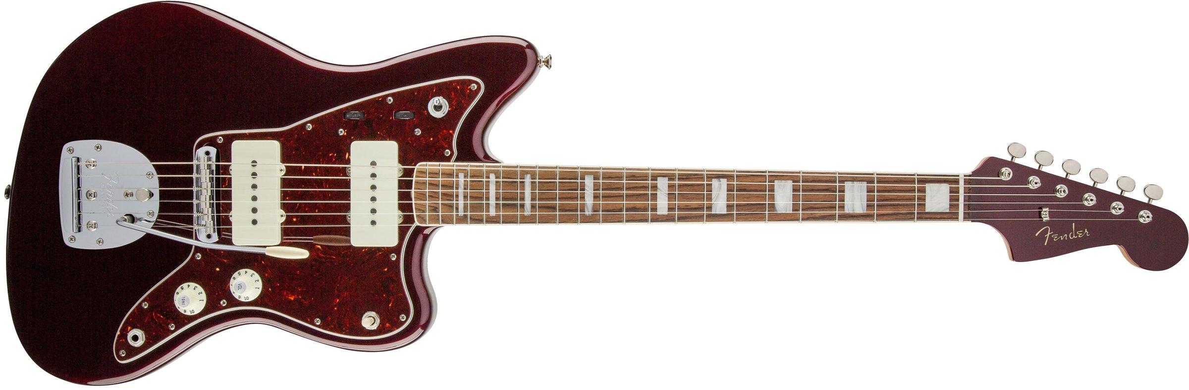 Cheap Fender Troy Van Leeuwen Jazzmaster Oxblood Solid-Body Electric Guitar Black Friday & Cyber Monday 2019