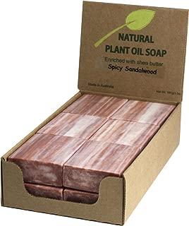 Sandalwood Natural Soap (12 Bars)