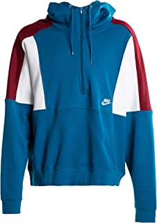 Nike Re-Issue Hz Flc Hoodie For Men, Size Large GREEN ABYSS/TEAM RED/SAIL/SA
