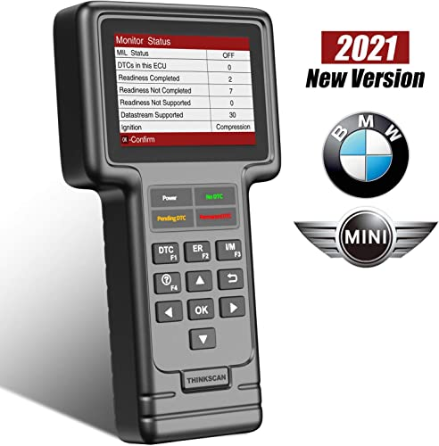 high quality thinkcar OBD2 Scanner for online BMW Mini[2021 Version], Full System BM Code Reader 2021 Automotive Scanner Diagnostic Scan Tool with Engine ABS BMS HAVC SRS TPMS at PCM EPB CBS EGS SAS Brake Oil ETS Reset online sale