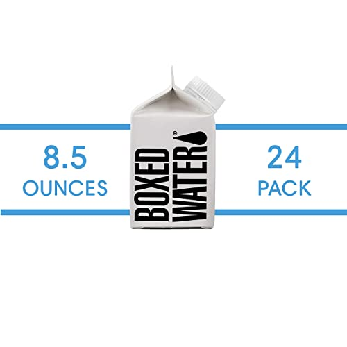 Boxed Water 8.5 ounce 24 Pack (mini), Better than plastic bottled water, Water for kids