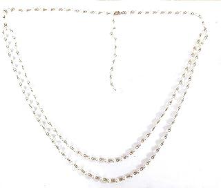 Town of Trinkets Pearl Tassle Belly Chain, Bikini Chain for Girls,Women