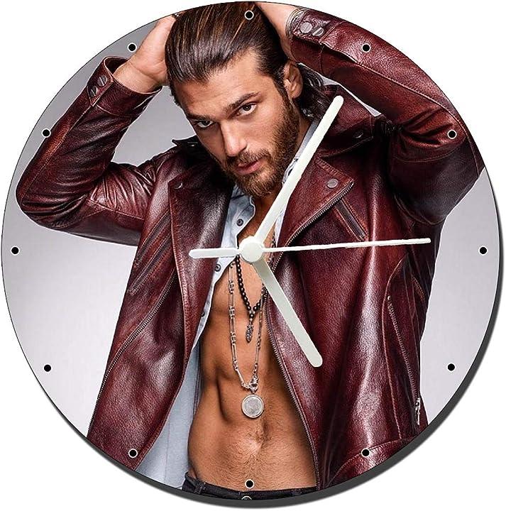 Can yaman orologio da parete wall clock 20cm Fer-relojit02927