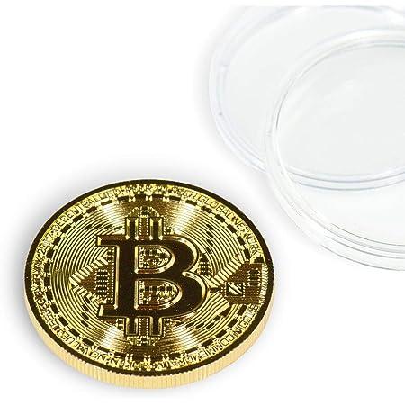 Gold Brick Bitcoin Commemorative Collectors Gift  Coin Bit Coin Art Collectio VA