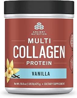 Ancient Nutrition Multi Collagen Protein Powder, Vanilla Flavor - 45 Servings