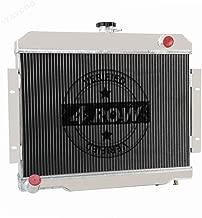 STAYCOO 4 Row All Aluminum Radiator for Jeep CJ5 CJ6 CJ7 1972-1986; Cherokee J10 Commando 1973-75