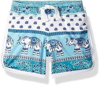 Masala Baby Boys Baby Swim Shorts Passage to India Turquosie