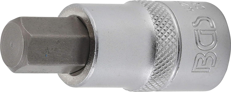 """Kraft-Bit-Einsatz Antrieb Innenvierkant 12,5mm 1//2/"""" Innensechskant 17mm 5334-H17"""