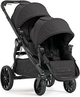 Baby Jogger City Select Double Stroller   Baby Stroller with 20 Ways to Ride, Included Second Seat   Quick Fold Stroller, Granite