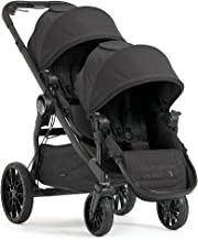 Baby Jogger City Select Double Stroller | Baby Stroller with 20 Ways to Ride, Included Second Seat | Quick Fold Stroller, Granite