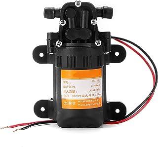 OurLeeme Hochdruckwasserpumpe, 12V Membran Selbstansaugende 100W 3.5L / Minute Wasserpumpe für Autowaschbootreinigung Gartenbewässerung