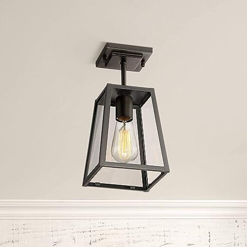 Arrington 6 Wide Mystic Black Outdoor Ceiling Light